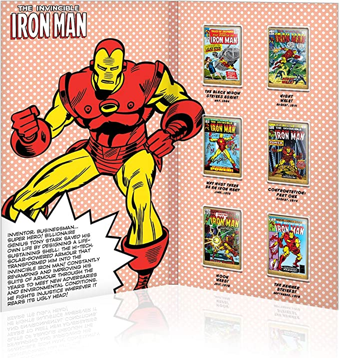 IMPACTO COLECCIONABLES Marvel Comics Iron Man - Collector Pack ...