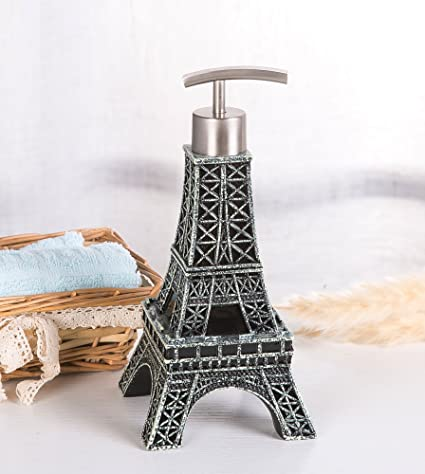 Eiffel Tower Bathroom Accessories. Siloko Classic Antique Solid Eiffel Tower Metal Pump Soap Dispenser Eiffel Tower