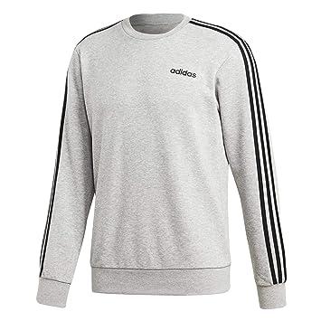ADIDAS Herren Sweatshirt Essentials 3 Stripes Crew Langarm