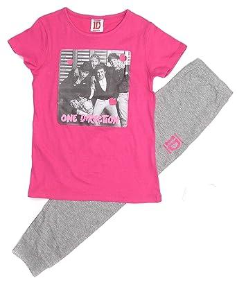Girls One Direction Pyjamas 7-8y 9-10y 11-12y and 13 Years Leggings ...