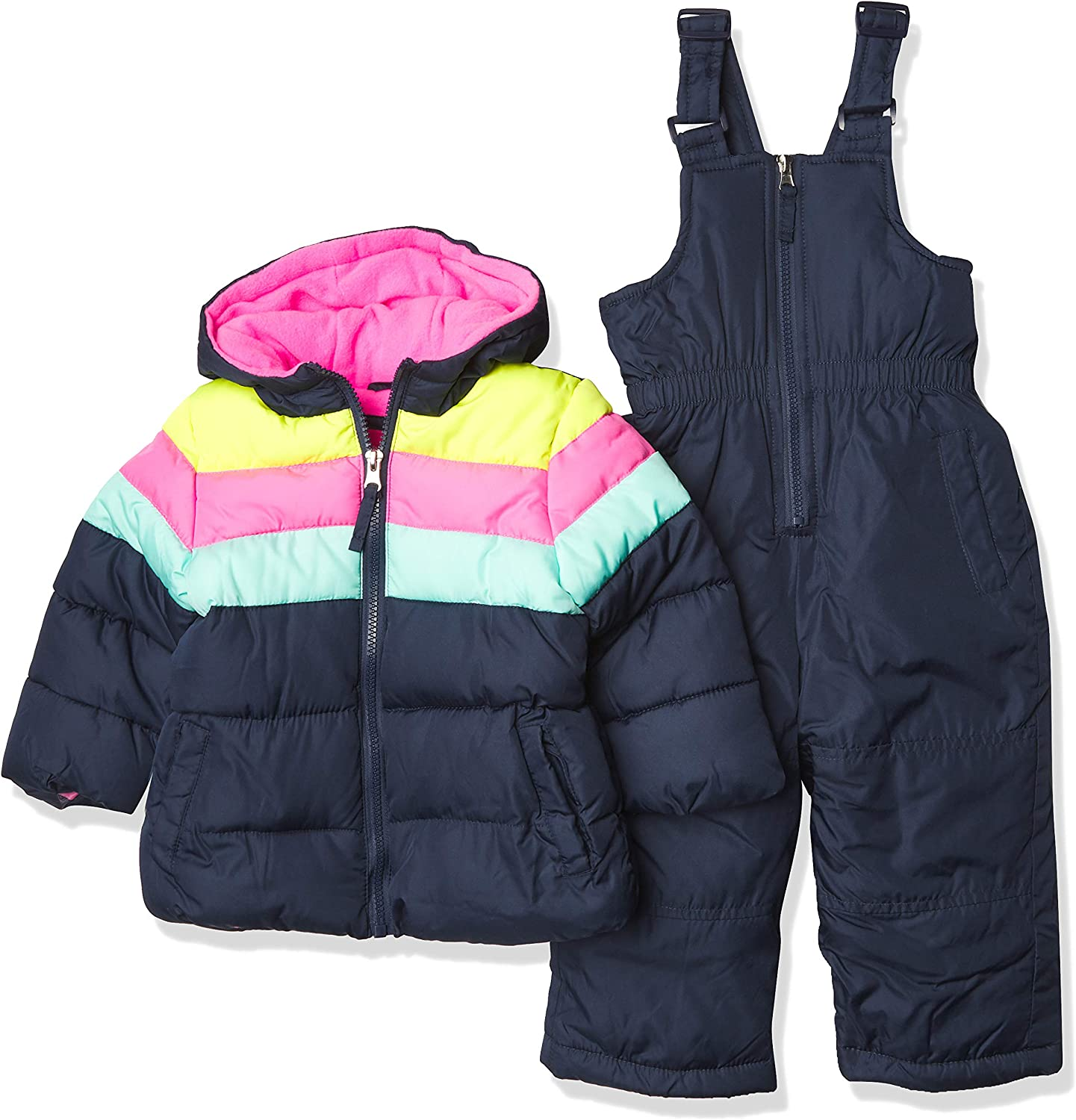 Pink Max 82% OFF Platinum Baby Snowsuits Tampa Mall Girls'