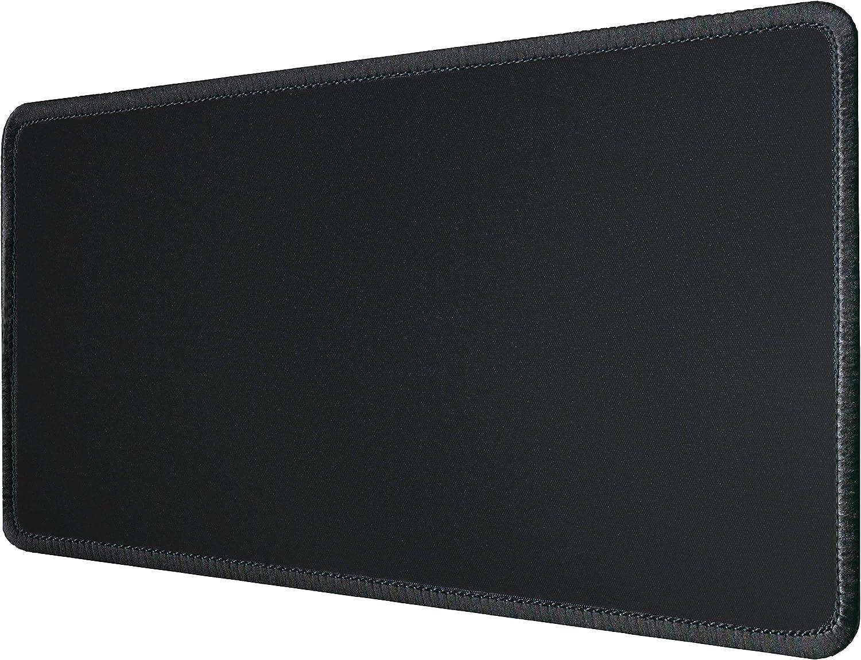 Silent Monsters Alfombrilla ratón Ordenador tamaño XL (900 x 300 mm), Mouse Pad Grande, diseño Negro, Adecuado para ratón de Oficina y para Gaming