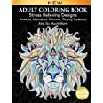 Adult Coloring Book : Stress Relieving Designs Animals, Mandalas, Flowers, Paisley Patterns And So Much More: Coloring Book F