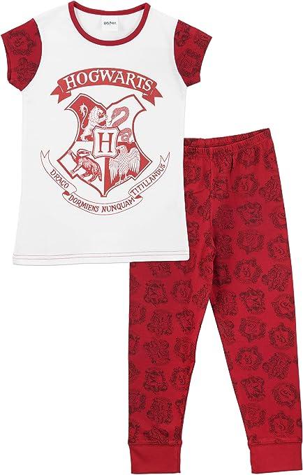 Harry Potter - Pijama para niñas - Hogwarts: Amazon.es: Ropa y accesorios