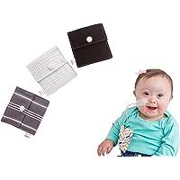 Tubie Pockets Feeding Tube NG NJ Securing Holder Pouch Black White Gray Theme Set of 3 Reusable Nasogastric Securement…