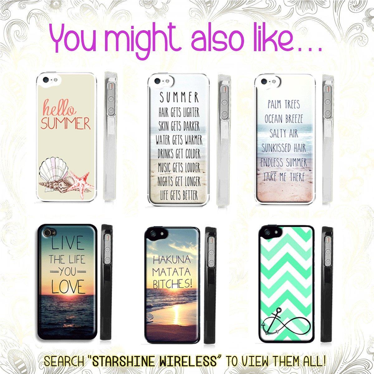 Amazon Trendy Summer Beach Life Iphone 5s Case Quote Palm