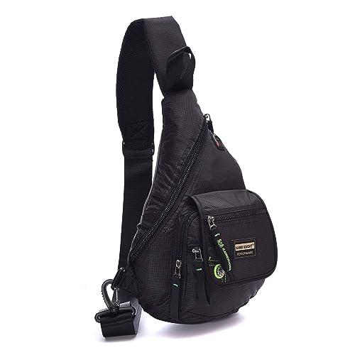 b4b7d6d25593 BIG SALE- DDDH Small Sling Bag Shoulder backpack Waterproof Nylon Outdoor  Chest Bagpack For Men