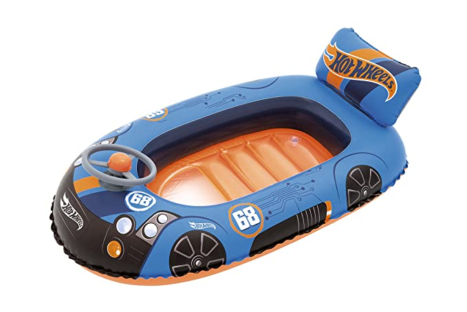 Barca Hinchable Infantil Bestway Hot Wheels Speed: Amazon.es ...