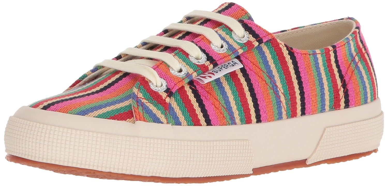 Superga Women's 2750 Canvasstripew Sneaker B0777YH49W 37 M EU (6.5 US)|Multi