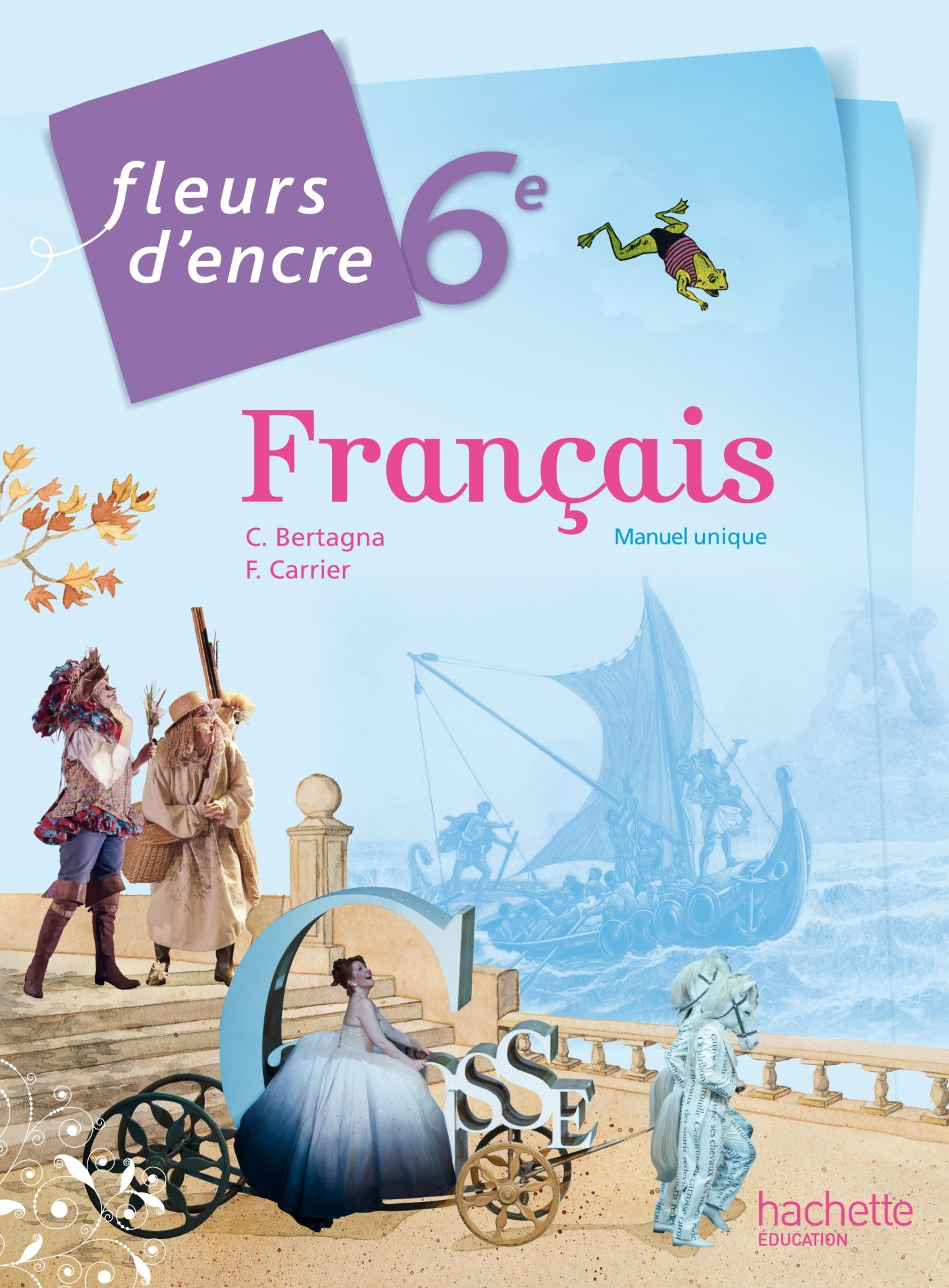 Fleurs D Encre Francais 6eme Grand Format Edition 2014