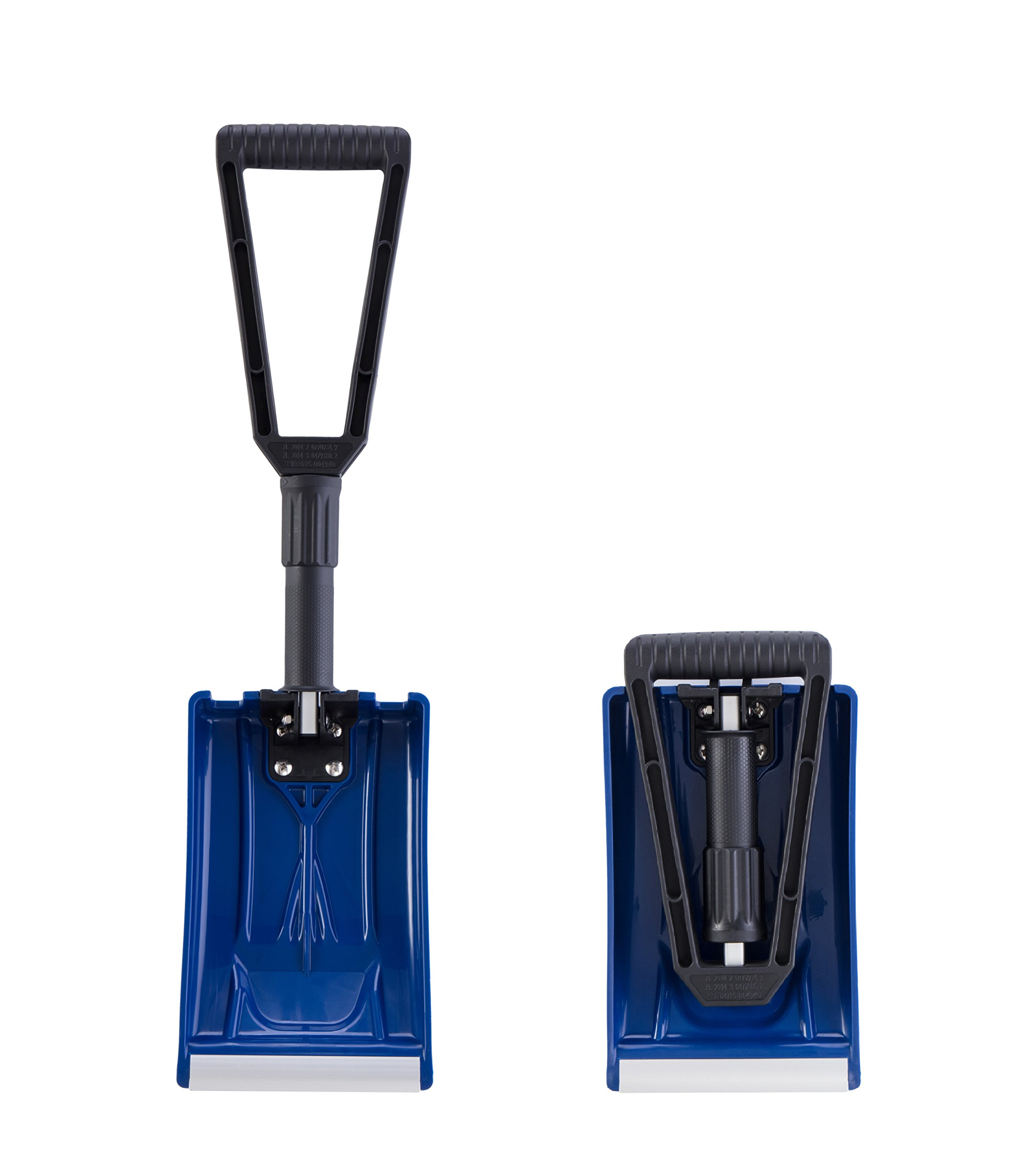 ORIENTOOLS Collapsible Folding Snow Shovel with Durable Aluminum Edge Blade (Blade 6'') by ORIENTOOLS (Image #4)