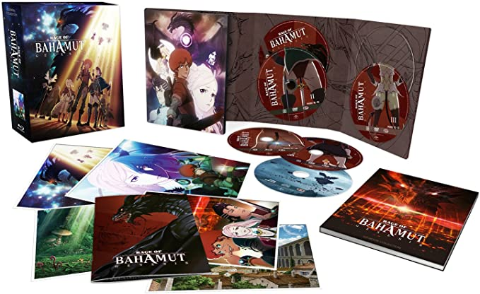 Rage of Bahamut: Genesis - Intégrale - Edition Collector Limitée - Combo [Blu-ray] + DVD