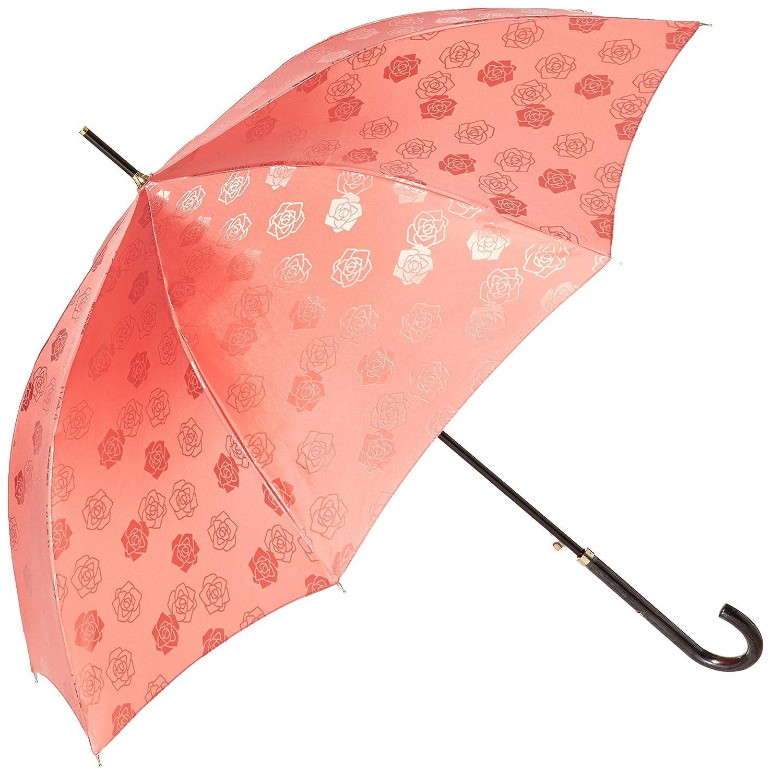 ミラ・ショーン 雨傘 バラ柄