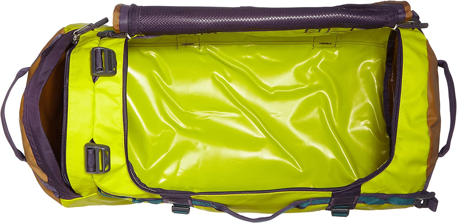 Depth Green//Venom Yellow The North Face Base Camp Duffel Medium