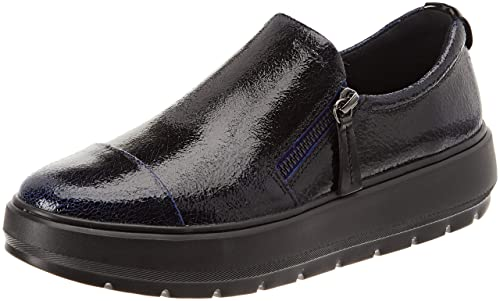 4c544dc595bf44 Geox Women's D Kaula H Slip On Trainers: Amazon.co.uk: Shoes & Bags