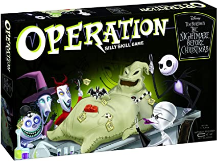 Operation Game Replacement Parts /& Pieces 2008 Funatomy Hasbro