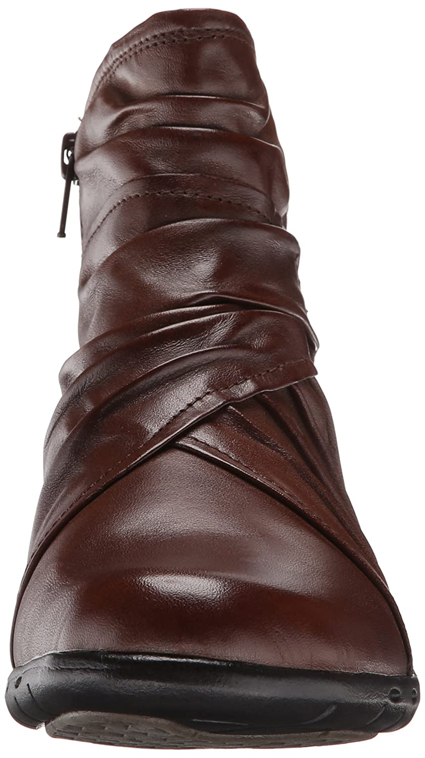Amazon.com | Rockport Cobb Hill Women's Pandora Boot, Chocolate, 9 M US |  Ankle & Bootie
