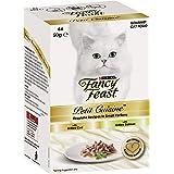 Fancy Feast Petit Cuisine Cod & Salmon Wet Cat Food, Adult, 6x50 g