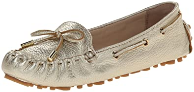 Cole Haan Women's Cary Moccasin,Soft Gold Metallic,5 ...