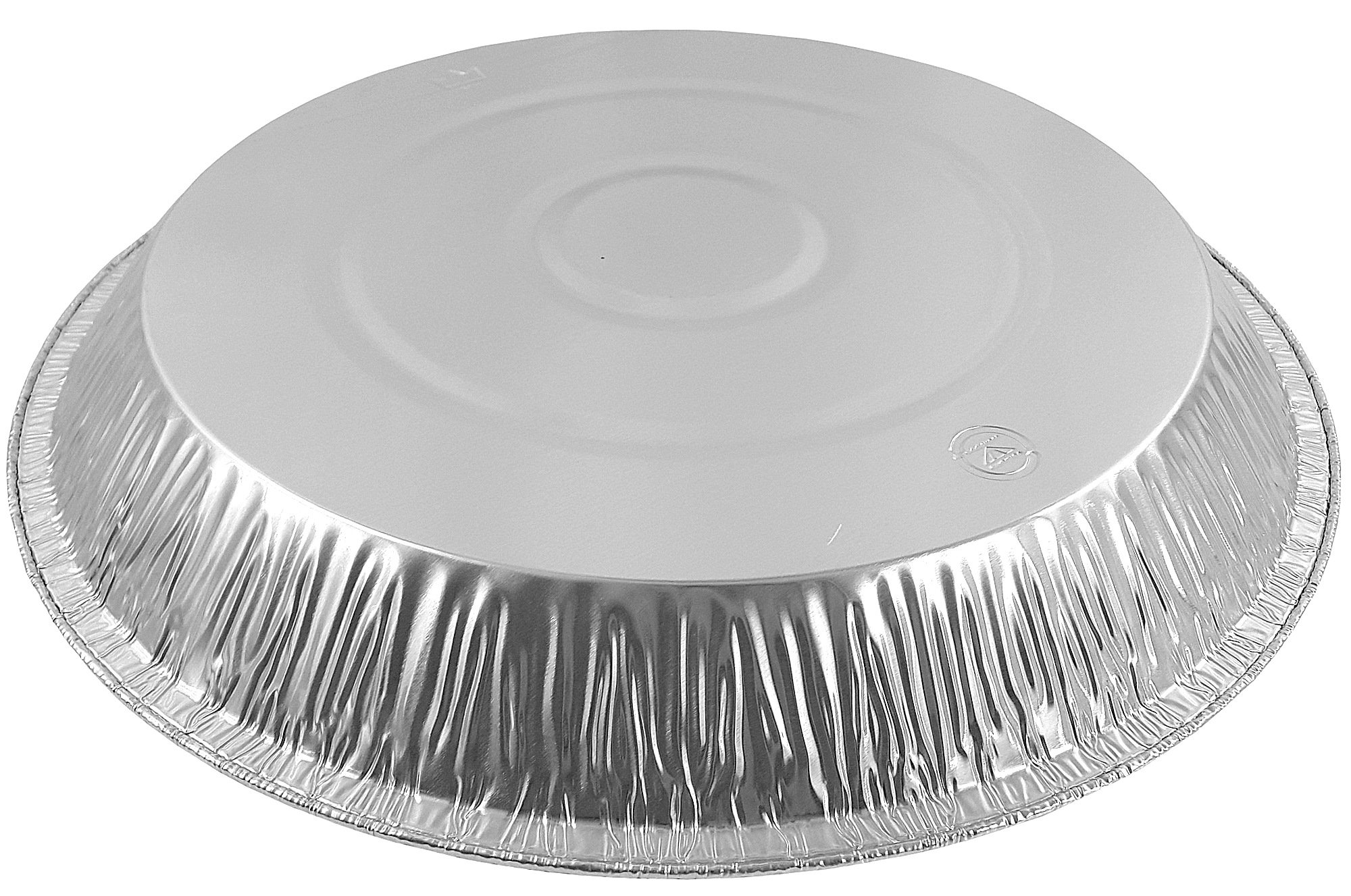 Pactogo 12'' Aluminum Foil Pie Pan Extra-Deep Disposable Tin Plates (Pack of 25) by PACTOGO (Image #6)