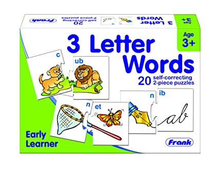 Frank 3 Letter Words Early Learner Puzzle for 3 Years and Above