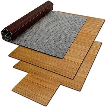 Bodenschutzmatte Floordirekt Eco Aus Naturlichem Bambus Schutz