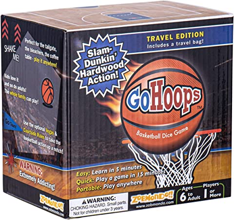 Basketball Dice Game