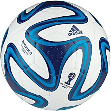 adidas G73629-4 Brazuca Glider White-Blue - Balón de fútbol ...