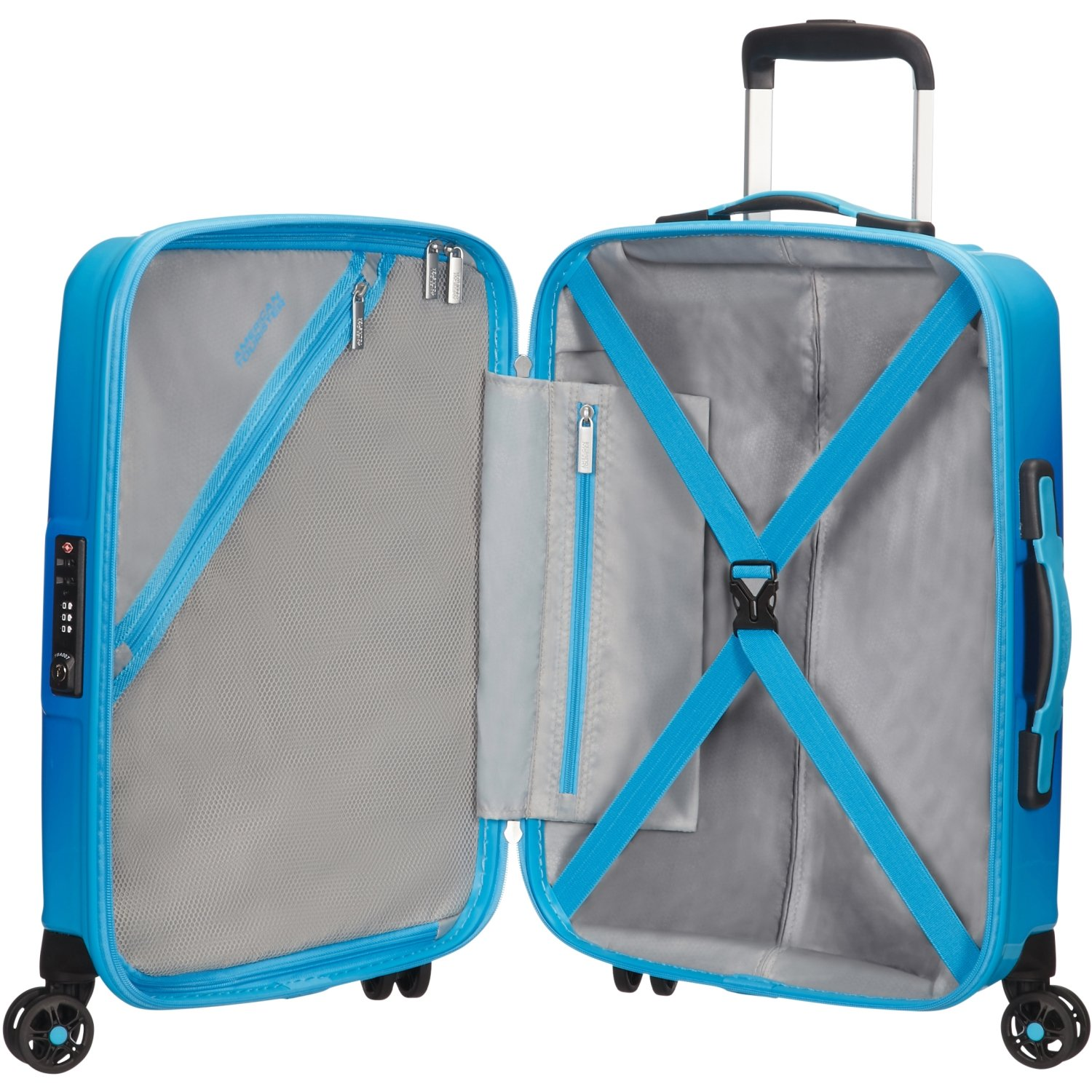 valigia spinner 55 air force 1 american tourister