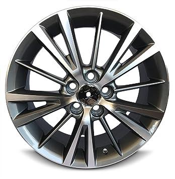 Toyota Corolla nuevo 16 pulgadas y 5 Lug aluminio rueda repuesto Llanta (16 x 6