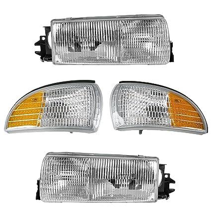 Headlight U0026 Corner Light Kit Set For Roadmaster Caprice Impala Custom  Cruiser