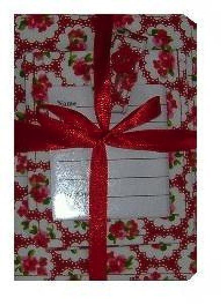 De rosas rojas Passport y etiqueta para equipaje juego de peluches y libros