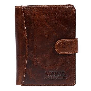 Bag Street - Portefeuille en cuir - Homme - Brun  Amazon.fr ... 8c5181986d5