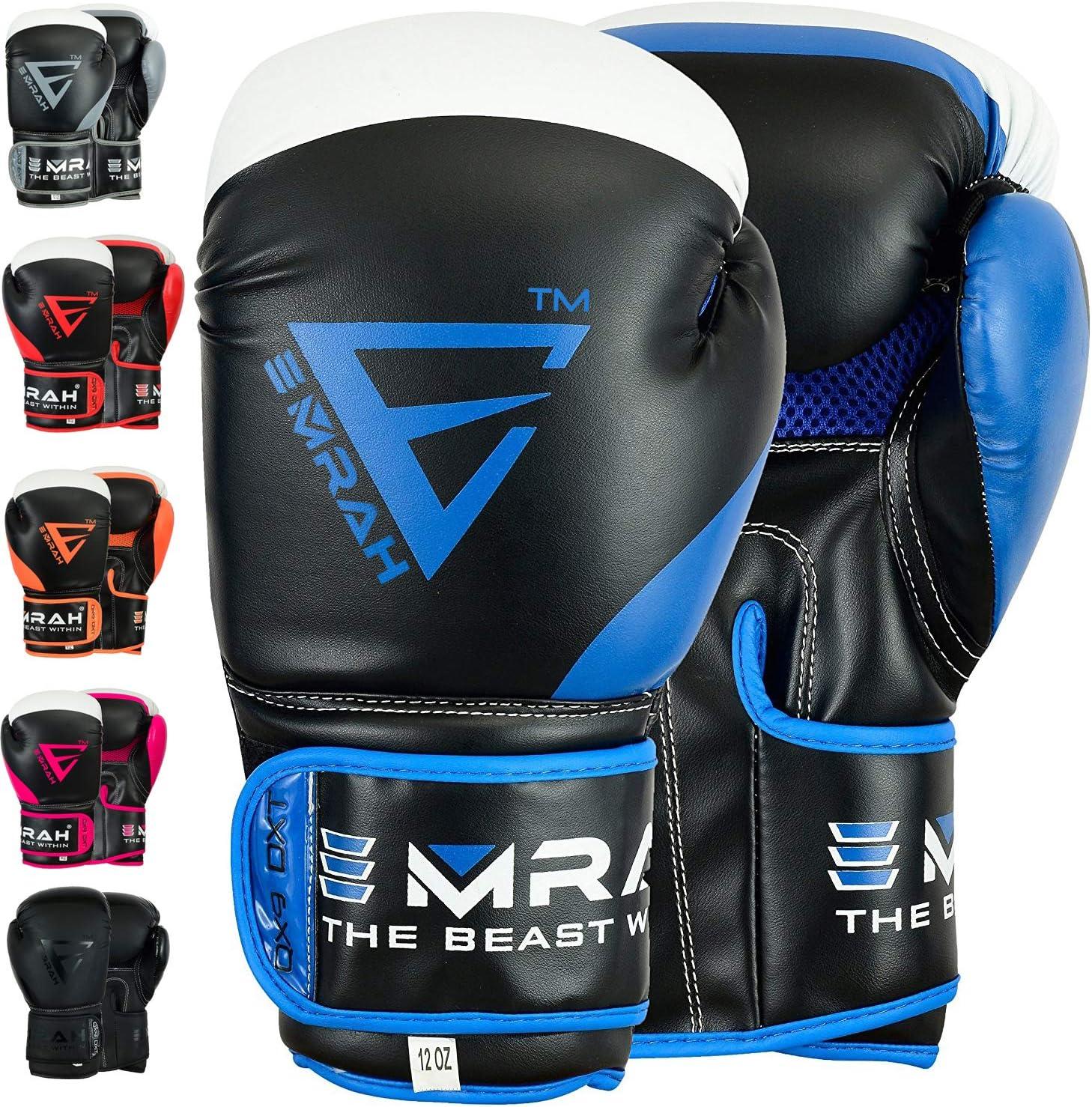 EMRAH Charged V-2 Gants De Boxe Muay Thai Entra/înement Sparring Sac De Boxe Mitaines Combat de Kick-Boxing Boxing Gloves