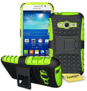 5c7a059bb26 Samsung Galaxy Grand Neo Case, FoneExpert® Heavy Duty ShockProof Rugged  Impact Armor Hybrid Protective