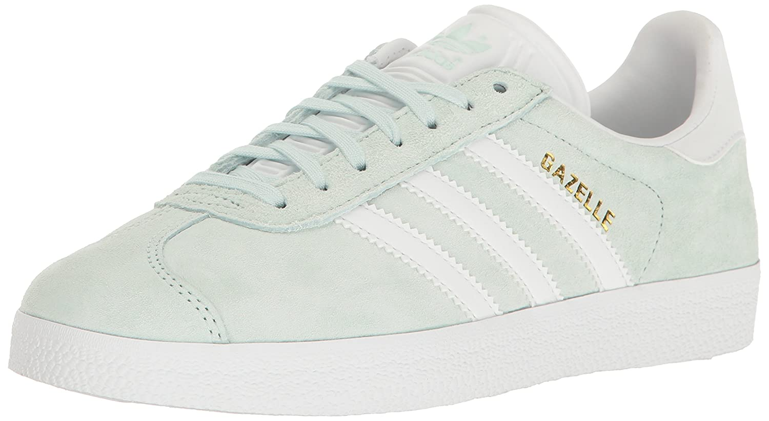 adidas Originals Gazelle Sneakers B01N2U0N8J 8 M US|Ice Mint/White/Metallic Gold