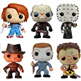 Funko POP! Classic Horror Movies Vinyl Figure Collection (Set of 6)