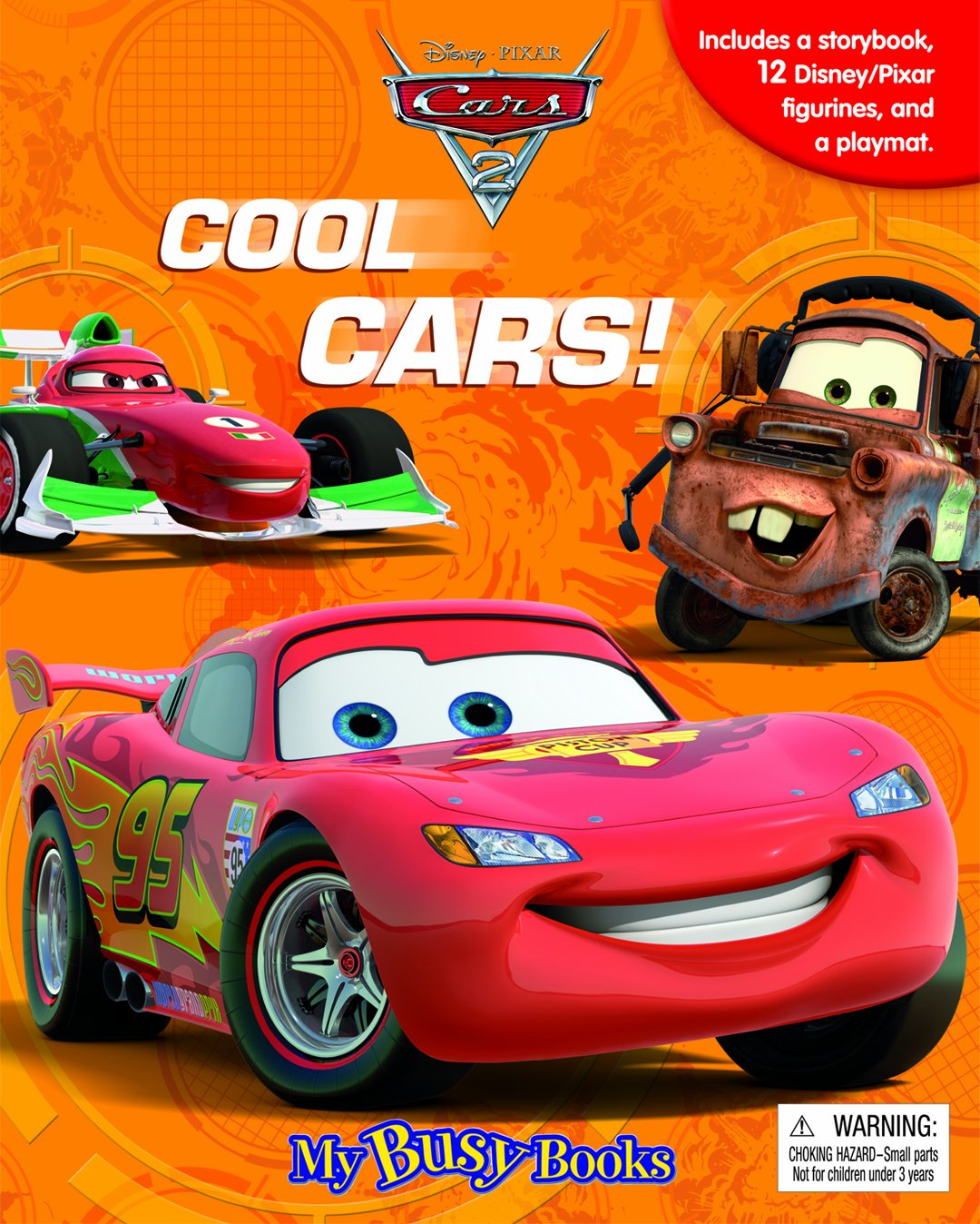 disneypixar cars 2 my busy book phidal publishing inc 9782764318713 amazoncom books