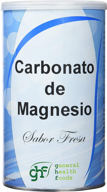 GHF - GHF Carbonato de Magnesio Bote Sabor Fresa 180 gr: Amazon.es ...