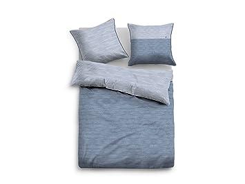 Moebel Eins Tom Tailor Bettwäsche Melange Satin Blau 135x20080x80
