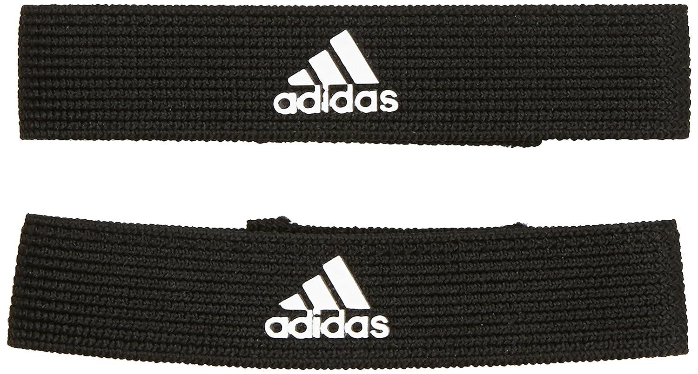 Adidas Stutzenstrumpfhalter Calcetines, Hombre, Negro/Blanco, Talla única: Amazon.es: Deportes y aire libre
