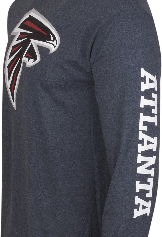 Majestic Sideprint Longsleeve Atlanta Falcons grau