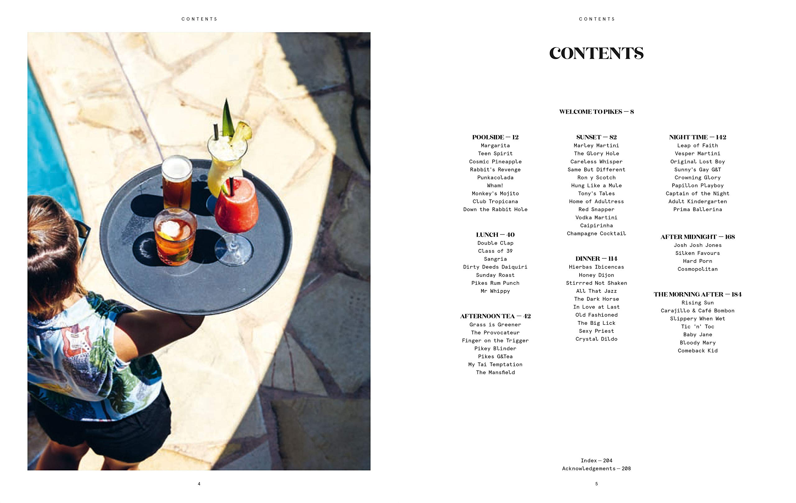 The Pikes Cocktail Book: Rock n Roll Cocktails from One of ...