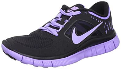 d1adc404f6146 Nike Free Run+3 Womens Running Shoes 510643-050 Black 10 M US