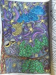 Arte Antiéstres. Buenas Noches. 100 Láminas Para Colorear
