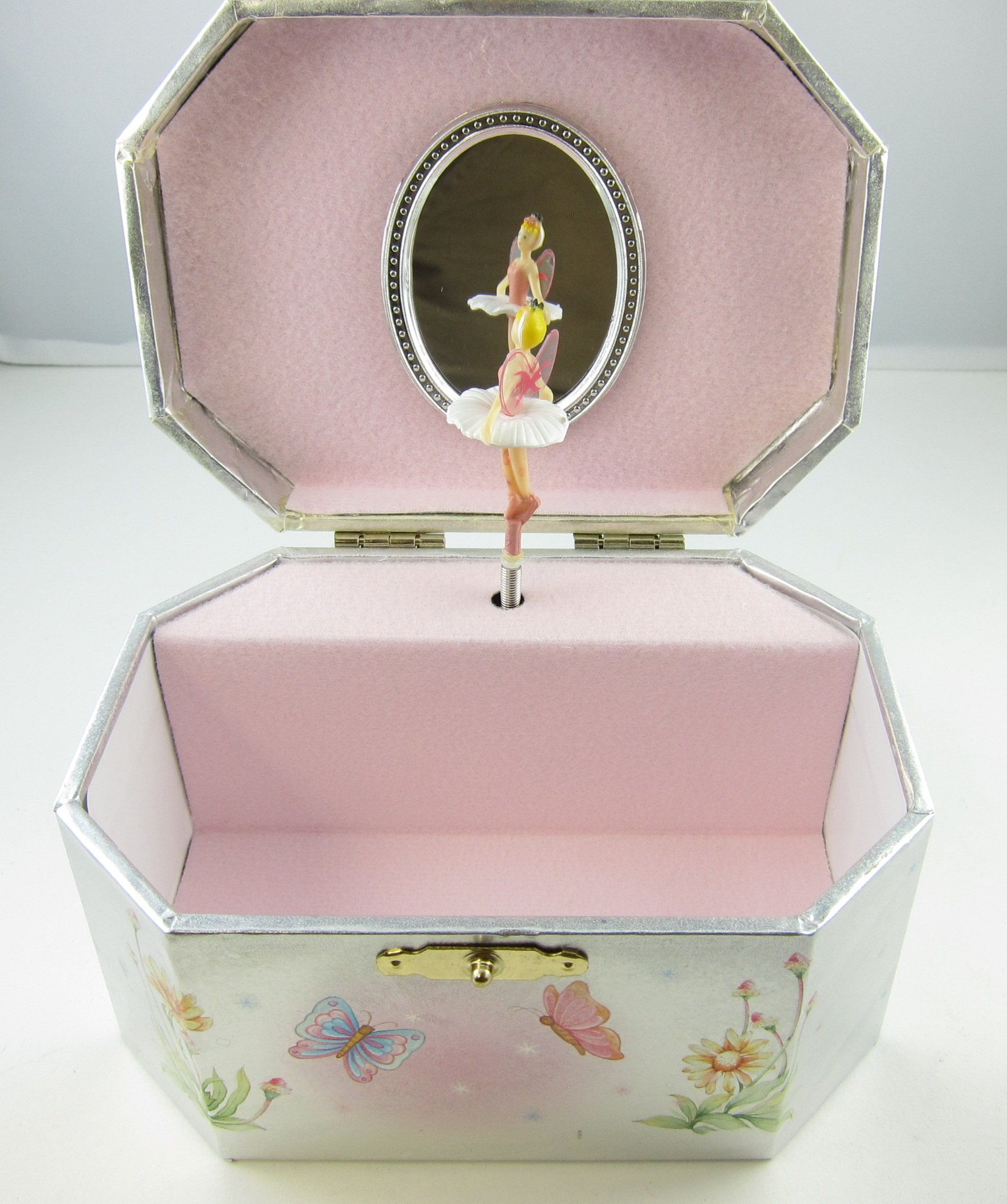 Fairy Ballerina Jewelry Music Box-Wooden material (Wood) by GTP (Image #3)