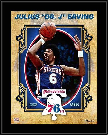 JULIUS IRVING PHILADELPHIA 76ERS 8X10 SPORTS PHOTO L
