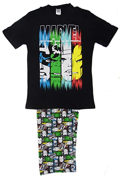 Super Heroes - Pijama - para Hombre Marvel Heroes Small