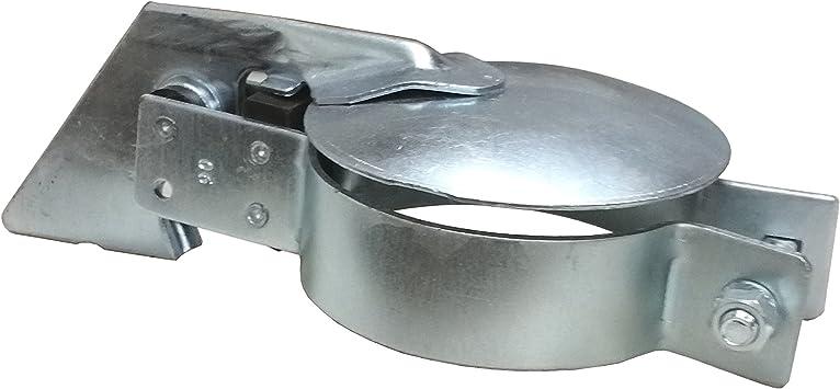 Trecker 40-45 mm Spannbereich Klappe Traktor Schlepper Schutz Agrar Auspuff Spannbereich f/ür Auspuff Regenklappe