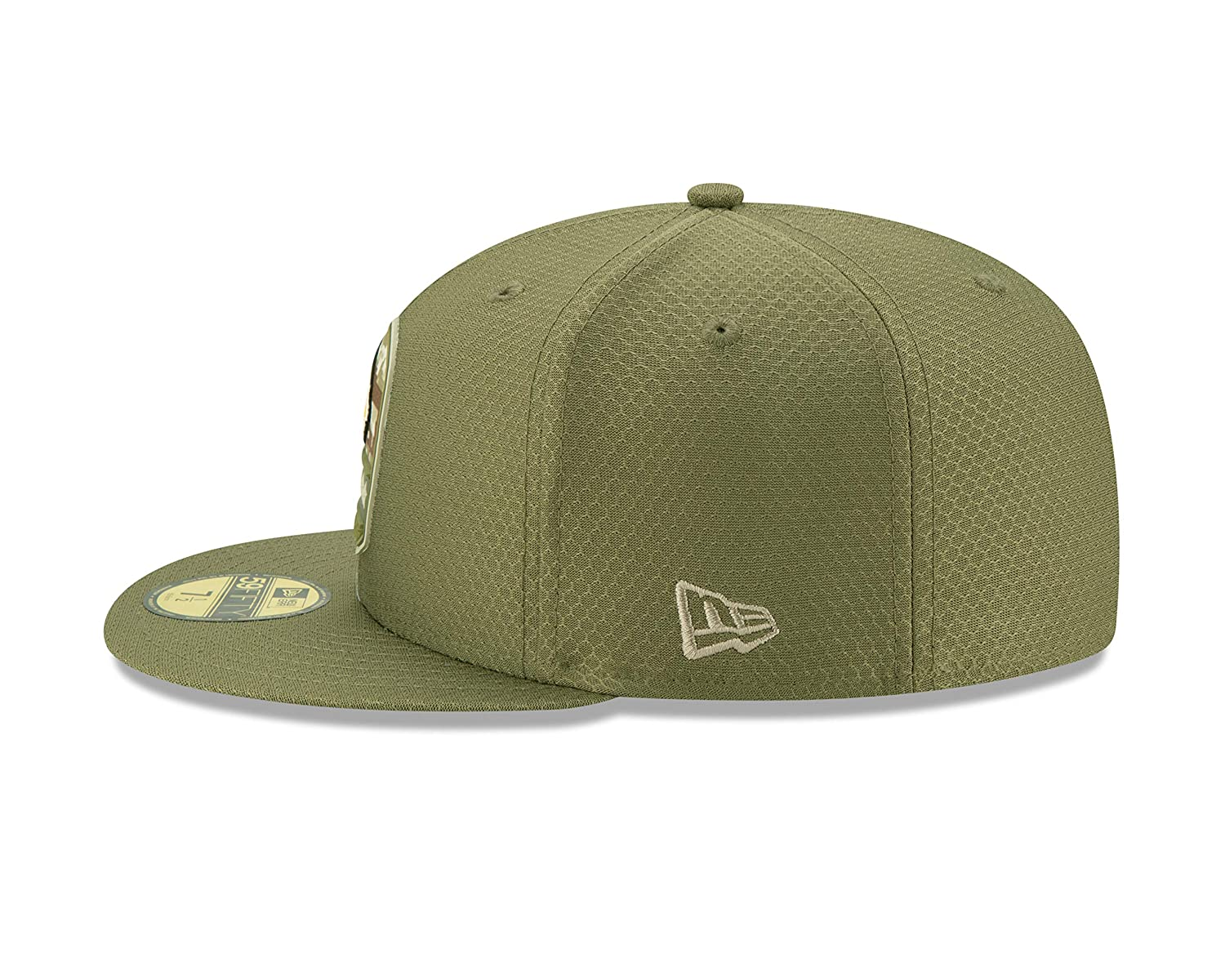 New Era Minnesota Vikings 59fifty Basecap On Field 2019 Salute to Service